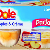 Dole Apple & Cream Parfait