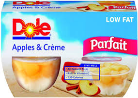 Dole Apple & Cream Parfait
