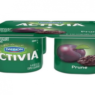 Activia Prune Yogurt