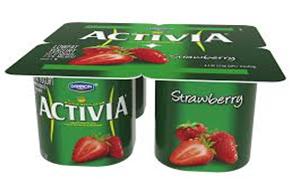 Activia Strawberry Yogurt
