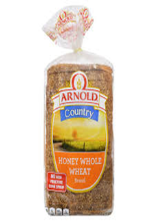 Arnold Honey Whole Wheat Bread