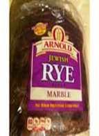 Arnold Rye Marble Bread
