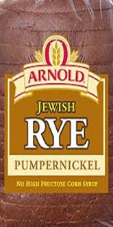 Arnold Rye Pumpernickle Bread