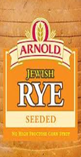 Arnold Rye Seeded Bread