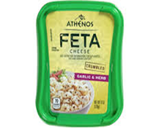 Athenos Feta Cheese Garlic & Herb