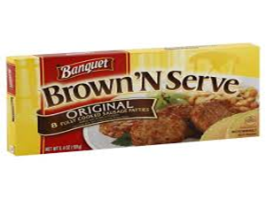 Banquet Brown 'N Serve Original Patties