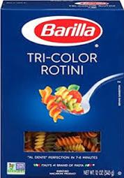 Barilla Tri-Color Rotini Pasta