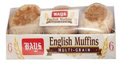 Bays Multi Grain English Muffins