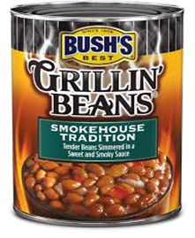 Bush's Best Grillin Beans Smokehouse Tradition