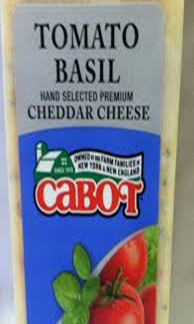 Cabot Tomato Basil Cheddar Cheese
