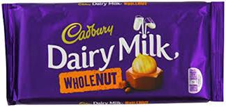 Cadboury Wholenut