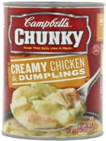 Campbell's Creamy Chicken & Dumplings