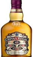 Chivas Regal 12 Years Old Whiskey