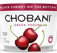Chobani Black Cherry Yogurt