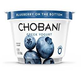Chobani Blueberry Yogurt