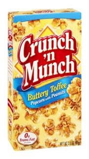 Crunch 'N Munch Butter Toffeee