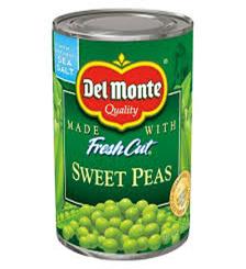 Del Monte Sweet Peas