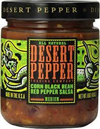 Desert Pepper Corn Black Bean Red Pepper