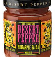 Desert Pepper Pineapple Salsa