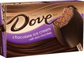 Dove Chocolate Ice Cream Bar