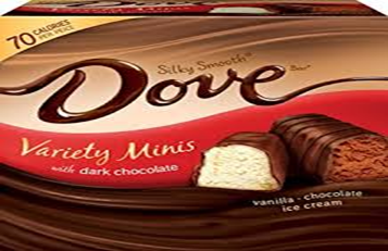 Dove Variety Mini's Dark Chocolate Ice Cream Bar