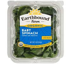 Earthbound Farms Organic Baby Spinash 5oz