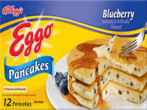 Eggo Blueberry Pancakes
