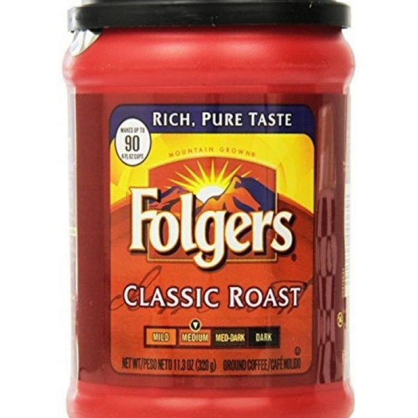Folgers Medium Classic Roast Ground