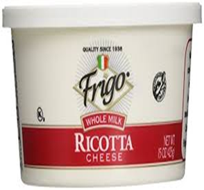 Frigo Ricotta Cheese Whole Milk