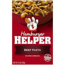 Hamburger Helper Beef Pasta