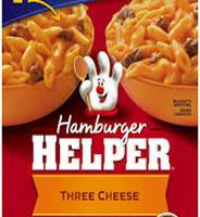 Hamburger Helper Three Cheese
