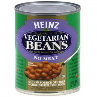 Heinz Vegetarian Beans No Meat
