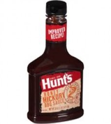 Hunts Honey Hickory BBQ Sauce