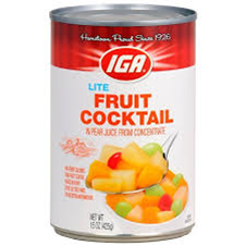 IGA Fruit Cocktail
