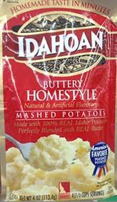 Idahoan Buttery Homestyle Mash Potato