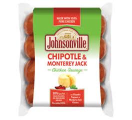 Johnsonville Chipotle & Monterey Jack Sausage 12oz