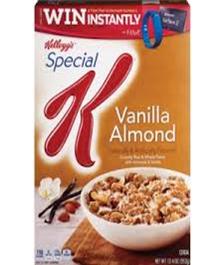 Kellogg's Special Vanilla Almond
