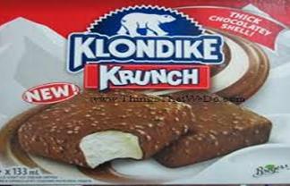 Klondike Krunch Ice Cream Bar