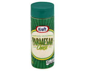Kraft Greated Parmesan Cheese