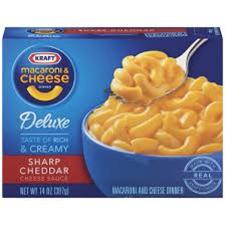 Kraft Mac & Cheese Deluxe Sharp Cheddar