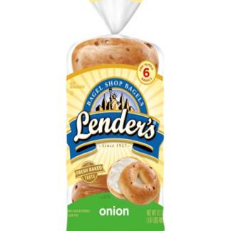 Lenders Onion Bagel