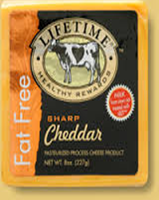 Lifetime Healthy Rewards Gluten Free Sharp Cheddar