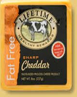 Lifetime Healthy Rewards Gluten Free Sharp Cheddar