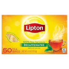 Lipton Tea Decaf