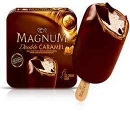 Magnum Double Caramel Ice Cream Bar