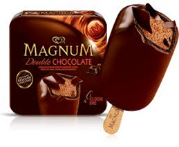 Magnum Double Chocolate Ice Cream Bar