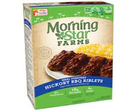 Morning Star Hickory BBQ Riblets