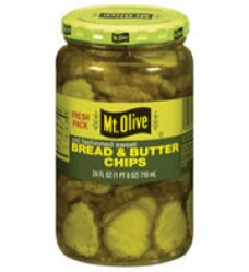 Mt. Olive Kosher Bread & Butter chips