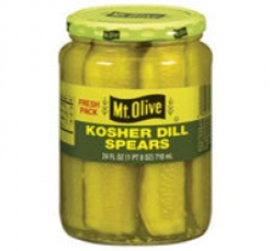 Mt. Olive Kosher Dill Spears Pickle