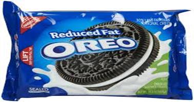 Oreo Reduced Fat